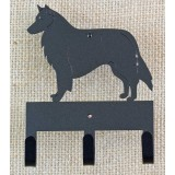BELGIAN SHEEPDOG KEY/LEASH HOLDER