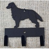 FLAT COAT RETRIEVER KEY/LEASH HOLDER