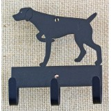 GERMAN SHORTHAIR POINTING KEY/LEASH HOLDER