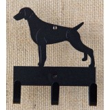 GERMAN SHORTHAIR POINTER KEY/LEASH HOLDER