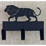 LION KEY/LEASH HOLDER