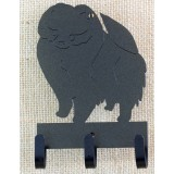 POMERANIAN A  KEY/LEASH HOLDER
