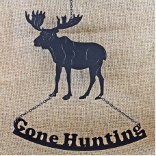MOOSE GONE HUNTING