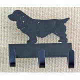 SUSSEX SPANIEL KEY/LEASH HOLDER