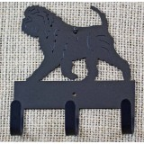 AFFENPINSCHER KEY AND LEASH HOLDER