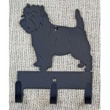 CAIRN TERRIER KEY/LEASH HOLDER