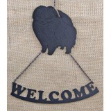 POMERANIAN A WELCOME SIGN