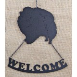 POMERANIAN B WELCOME SIGN