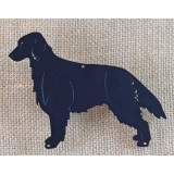 FLAT COAT RETRIEVER SILHOUETTE