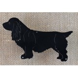 SUSSEX SPANIEL SILHOUETTE