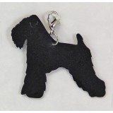 WHEATON TERRIER ZIPPER PULL