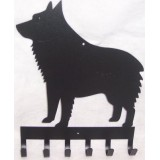 SCHIPPERKE 6 HOOK LEASH HOLDER