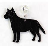 AUSTRALIAN CATTLE DOG ZIPPER PULL