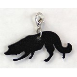 BORDER COLLIE HERDING ZIPPER PULL