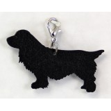 SUSSEX SPANIEL ZIPPER PULL